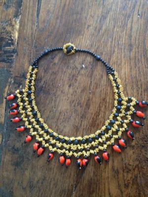 on feet at purchase cheap lowest discount Collier artisanal ras du cou